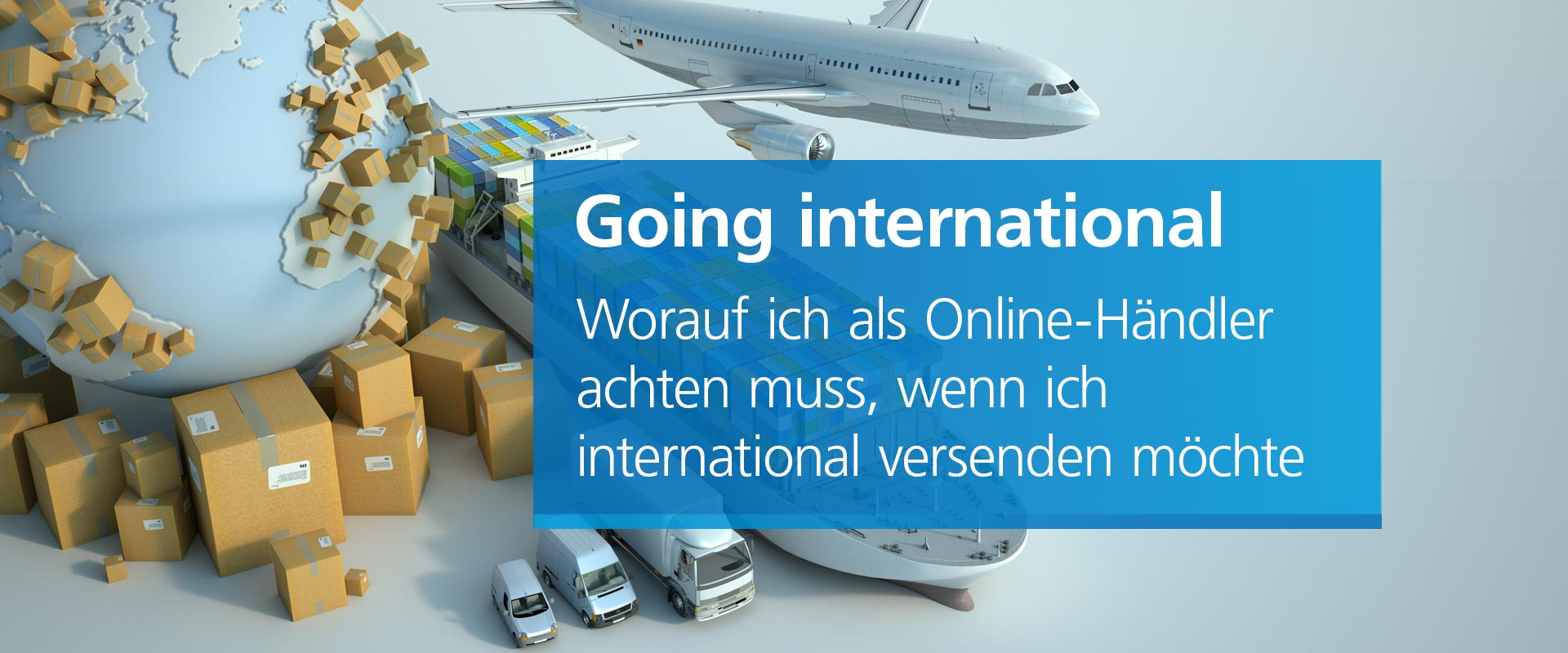 Webinar: Going international